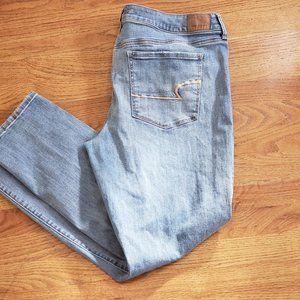 American Eagle Skinny Jeans sz 18